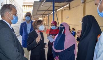 بالصور زيارة مفاجئة لنائب محافظ الإسكندرية لمستشفى العامرية