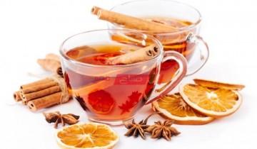 طريقة عمل شاي القرفة بالبرتقال