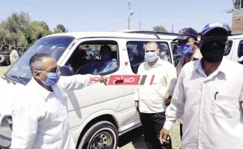 شن حملات مرورية مكثفة بشوارع دمياط لعدم إرتداء الكمامة الواقية لمواجهة فيروس كورونا المستجد