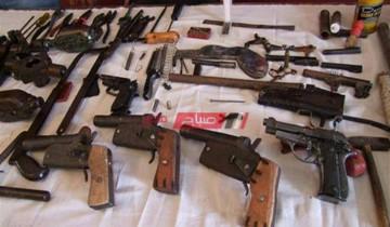 حملة أمنية بأسيوط تسفر عن ضبط 60 قطعة سلاح خلال 24 ساعة