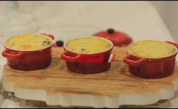 طريقة عمل سوفليه المشروم بالكريمة والجبن علي طريقة الشيف محمد حامد