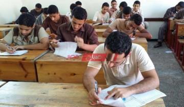 صور.. جدول امتحانات الصف الثالث الاعدادي الترم الثاني 2021 وزارة التربية والتعليم