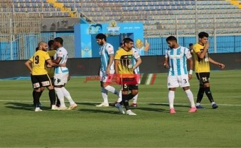 نتيجة مباراة بيراميدز والانتاج الحربي اليوم الدورى المصري
