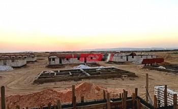 إجراء قرعة علنية لمشروع منازل القرى النموذجية في الوادي الجديد