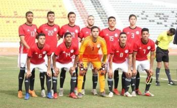 مباراة مصر وطاجيكستان كأس العرب تحت 20 سنة
