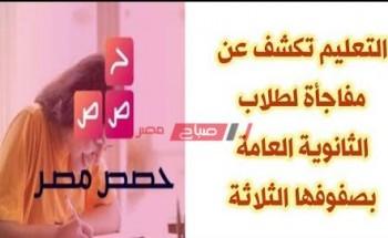 تعرف على خطوات دخول منصة حصص مصر الالكترونية التعليمية الجديدة 2021