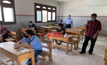 جدول امتحانات نصف العام 2021 محافظة الدقهلية المرحلة الإعدادية اولى وثانية وثالثة