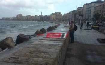 أجواء باردة وانخفاض درجات الحرارة علي الإسكندرية والأرصاد تحذر