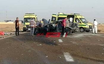 إصابة اثنان في حادث انقلاب سيارة بسبب الطقس السيئ