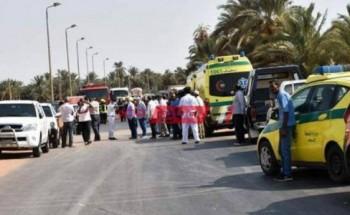 إصابة 2 أمناء شرطة إثر حادث تصادم مرورى فى الهرم