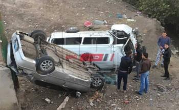 ارتفاع عدد مصابي حادث الإسماعيلية إلى 65 مصاب