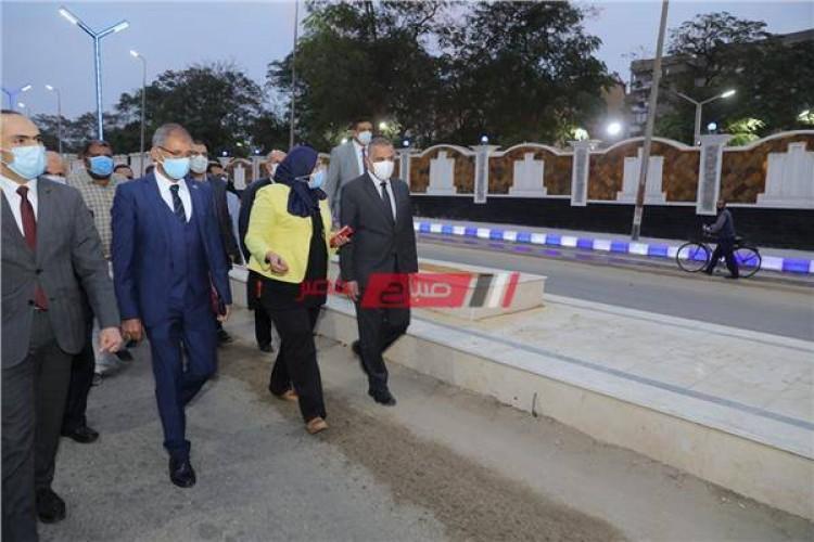 افتتاح نفق الشهيد اللواء نبيل فراج بمحافظة سوهاج