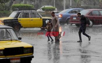الأرصاد الجوية تحذر من طقس غير مستقر وتساقط أمطار غدا – تعرف علي التفاصيل
