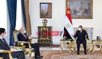 الرئيس يتطلع لنقل الخبرات التكنولوجية الفرنسية إلى مصر