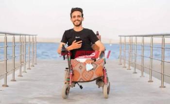 """قصة """"السيد"""" ابن محافظة الشرقية والشهير بأبو ضحكة جنان الإعاقة إعاقة أخلاق وليست إعاقة بدن"""