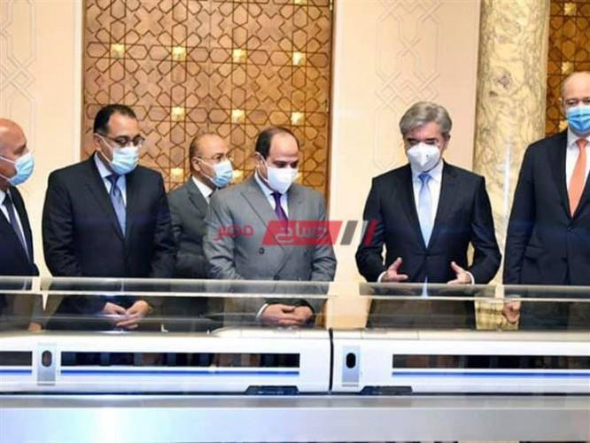 السيسي يقدم الشكر والثناء لشركة سيمنز للمرة الثانية لدعمها لمصر