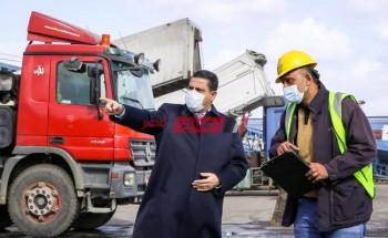 رئيس هيئة ميناء دمياط: إتخاذ كافة الإجراءات لمواجهة تقلبات الطقس