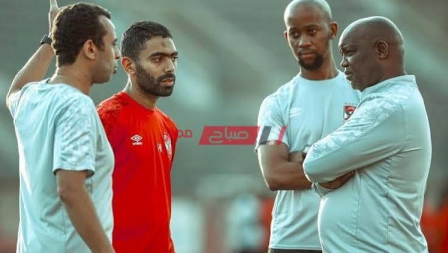كاف يوقف حسين الشحات 4 مباريات