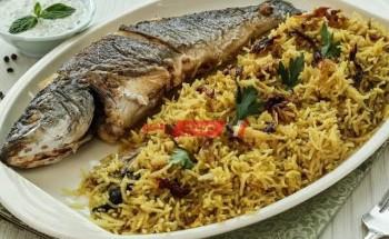 طريقة عمل صيادية الأرز بالسمك بالبقدونس والليمون في المنزل زي المطاعم بأسهل الطرق