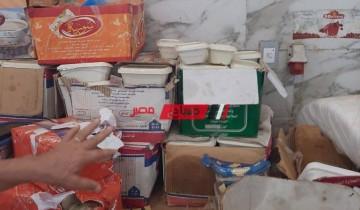 ضبط أكثر من 10 آلاف عبوة حلوى غير صالحة في الإسكندرية