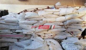 ضبط كمية كبيرة من مخلفات البسكويت الغير صالح للاستخدام داخل مصنع في الإسكندرية