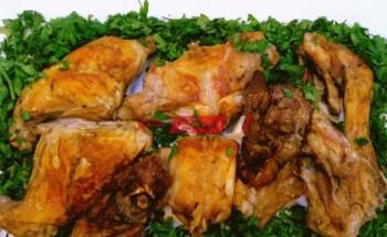 طريقة عمل أرنب محمر بطعم مميز وخطوات سهلة على طريقة الشيف فاطمة ابو حاتى