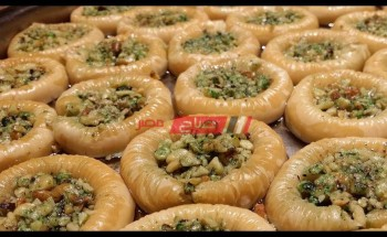 طريقة عمل حلوى اساور الست فى أقل من نصف ساعة بخطوات بسيطة على طريقة الشيف فاطمة ابو حاتى