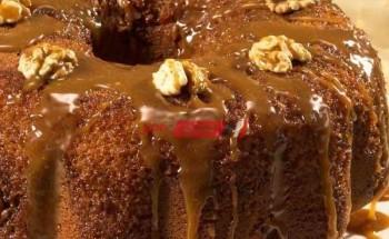 طريقة عمل كيك التمر بالزعفران بطعم مميز على طريقة الشيف محمد حامد