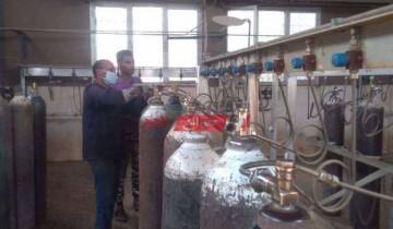 قيام شباب متطوعين بتوفير أجهزة أكسجين بمحافظة شمال سيناء