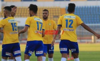 نتيجة مباراة الإسماعيلي ومصر المقاصة اليوم الدوري المصري