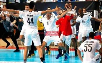 حالا موعد مباراة مصر وتشيلي في كأس العالم لكرة اليد للرجال 2021 وترددات القنوات الناقلة