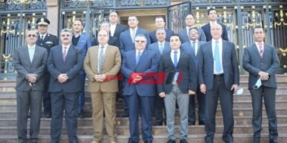 محافظ البحر الأحمر يقدم التهنئة لمديرية الأمن بعيد الشرطة الـ 69
