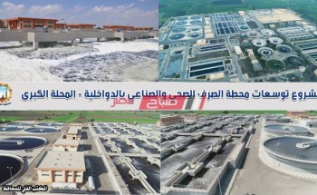 محافظ الغربية: محطة الدواخليه تعد أكبر محطات الصرف الصحي والصناعي بالدلتا