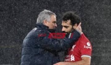 ماذا حدث بين محمد صلاح ومورينيو بعد مباراة ليفربول وتوتنهام