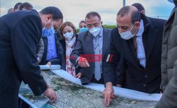 محافظ الإسكندرية يتفقد مشروع مترو أبو قير المقرر انطلاقه مارس القادم