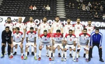 نتيجة مباراة البحرين والكونغو كأس العالم لكرة اليد