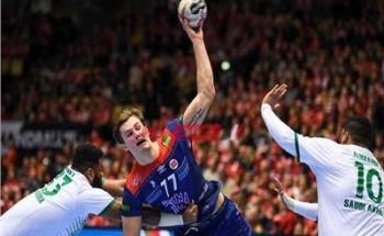 نتيجة مباراة النرويج والبرتغال كأس العالم لكرة اليد