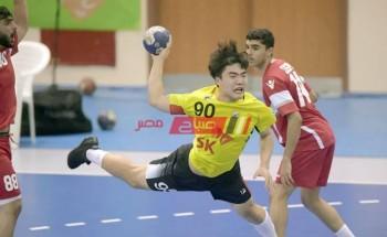 نتيجة مباراة كوريا الجنوبية وتشيلي كأس العالم لكرة اليد