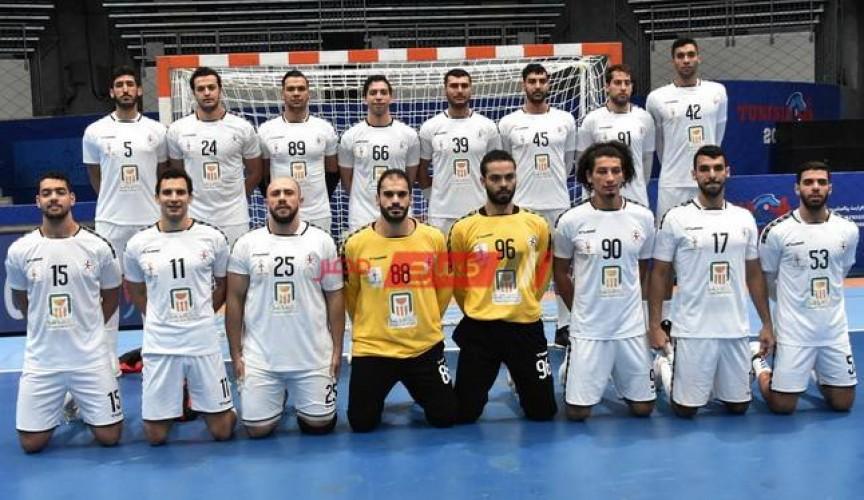 ملخص مباراة مصر والسويد كأس العالم لكرة اليد