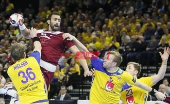 نتيجة مباراة قطر والسويد كأس العالم لكرة اليد