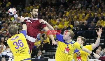 مشاهدة مباراة قطر والسويد بث مباشر كأس العالم لكرة اليد