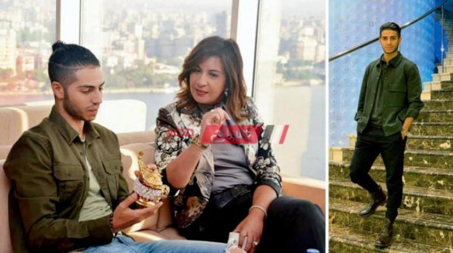 وزيرة الهجره تستقبل مينا مسعود في زيارته لمصر