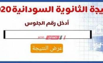 رابط الاستعلام عن نتيجة الشهادة السودانية 2020 وموعد ظهورها والخطوات