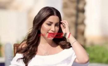 نسرين طافش تواصل ترويج لـ مسلسلها المداح