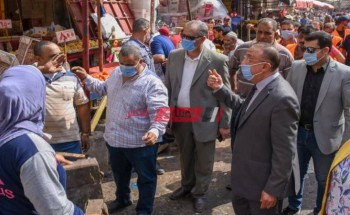 نقل بائعي سوق محطة مصر والقاهرة إلي أماكن جديدة بالإسكندرية للبدء في تطوير العشوائيات