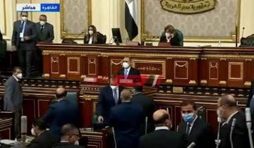 نواب محافظة الإسكندرية يؤدون اليمين أمام مجلس النواب 2021