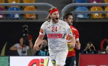 موعد مباراة الدنمارك والسويد نهائي بطولة كأس العالم لكرة اليد 2021