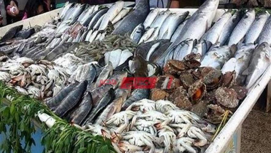 أسعار الأسماك بكافة انواعها اليوم الخميس 8-4-2021 بأسواق مصر