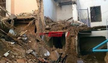مصرع شخصان وإصابة آخر جراء إنهيار سقف غرفة منزل عليهم فى القناطر الخيرية