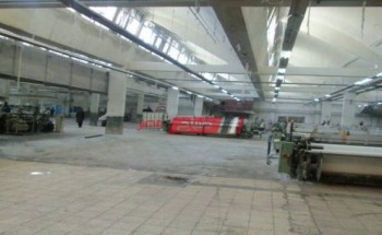 الغلق التام لمبنى 2 بمصنع دمياط للغزل والنسيج بعد سرقته